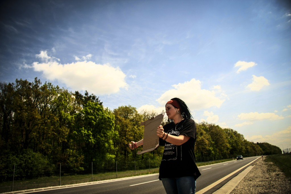 hitchhike in poland